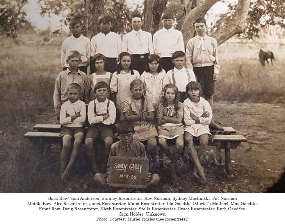 Sandy Gully QLD School Photo